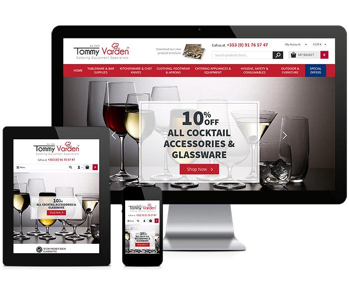 Tommy Varden Responsive Website