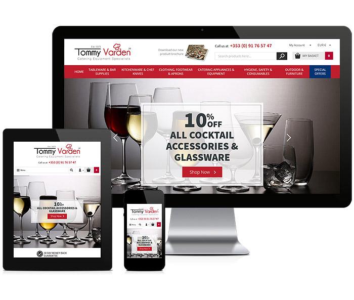 Tommy Varden Responsive Website